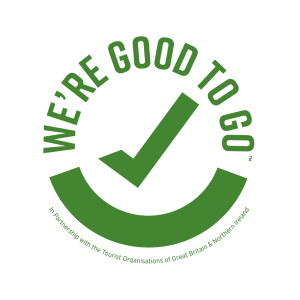 We re good to go logo