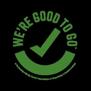 We re good to go logo